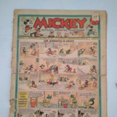 Tebeos: MICKEY, ED. MOLINO BARCELONA, AÑO 1935, 1936 - LOTE DE 40 EJEMPLARES, TODOS FOTOGRAFIADOS. Lote 204984163