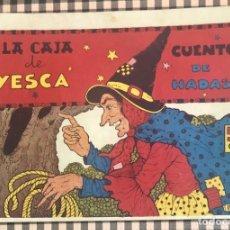 Tebeos: CUADERNOS SELECTOS CISNE Nº 37 LA CAJA DE YESCA. ORIGINAL EDICION PORTADA VARIABLE 0,50 CTS. GERPLA. Lote 205075582