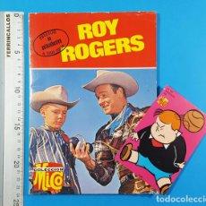Tebeos: ROY ROGERS, EDITORIAL FHER COLECCION MICO 1969 64 PAGINAS INCLUYE EL ADHESIVO. Lote 205142638
