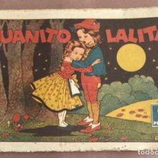 Tebeos: CUADERNOS SELECTOS CISNE Nº 22. JUANITO Y LALITA. ORIGINAL CISNE 1943. GERPLA. Lote 205195028