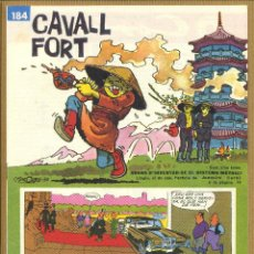 Tebeos: CAVALL FORT - Nº 184. Lote 205309027
