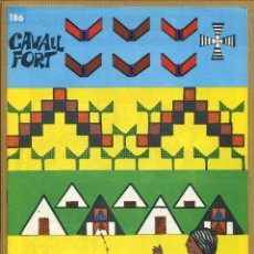 Tebeos: CAVALL FORT - Nº 186. Lote 205309222