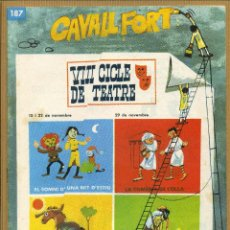 Tebeos: CAVALL FORT - Nº 187. Lote 205309283