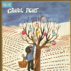Tebeos: CAVALL FORT - Nº 190 / 191. Lote 205310202
