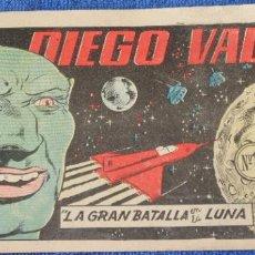 Tebeos: DIEGO VALOR Nº10 - LA GRAN BATALLA EN LA LUNA (1ª EDICIÓN). Lote 205473701