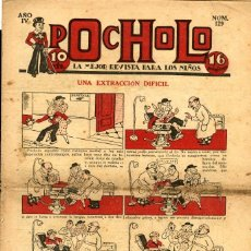 Tebeos: POCHOLO-129 (S. VIVES, 1934). Lote 205853181