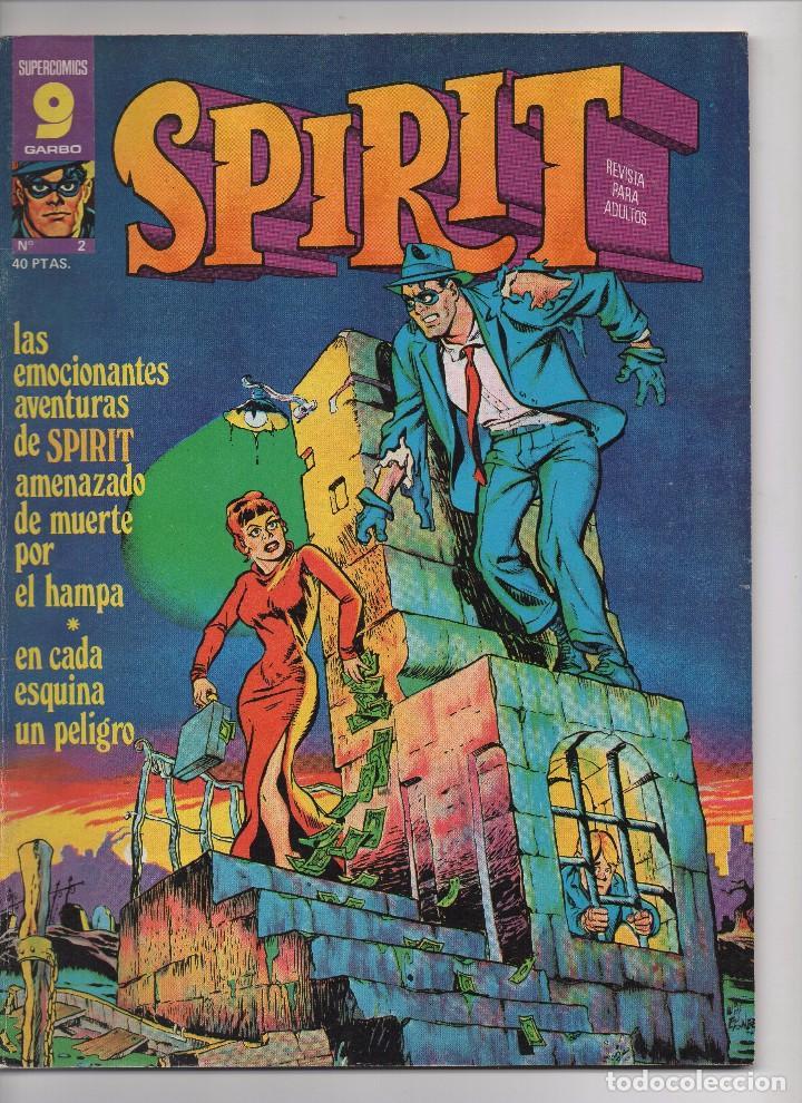 """Tebeos: """"SPIRIT"""" DE WILL EISNER 23 PRIMEROS NÚMEROS EN PERFECTO ESTADO - Foto 2 - 205897535"""