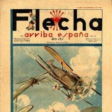 Livros de Banda Desenhada: FLECHA-46 (FALANGE ESPAÑOLA T-J.O.N.S, 1937) GRANDE: 43 X 29 CMS.. Lote 206179783