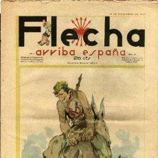 BDs: FLECHA-47 (FALANGE ESPAÑOLA T-J.O.N.S, 1937) GRANDE: 43 X 29 CMS.. Lote 206179862