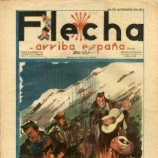 BDs: FLECHA-49 (FALANGE ESPAÑOLA T-J.O.N.S, 1937) GRANDE: 43 X 29 CMS. NOCHEBUENA ALEGRÍA Y OPTIMISMO ... Lote 206180001