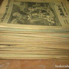 BDs: MADRE LA NOVELA CON PREMIO CASI COMPLETA CON TIRA DE COMIC CUPON Nº 8 A 103. Lote 192784447