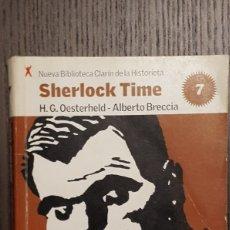 Tebeos: COMIC - SHERLOCK TIME - BRECCIA / OESTERHELD - BIBLIOTECA CLARIN DE LA HISTORIETA #7. Lote 206488590