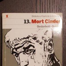 Tebeos: COMIC - MORT CINDER - BRECCIA / OESTERHELD - BIBLIOTECA CLARIN DE LA HISTORIETA #13. Lote 206489378