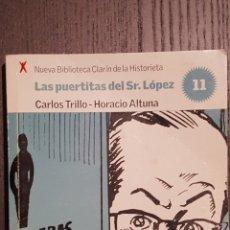Tebeos: COMIC - LAS PUERTITAS DEL SR. LOPEZ - ALTUNA / TRILLO - BIBLIOTECA CLARIN DE LA HISTORIETA #11. Lote 206490191