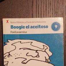 Tebeos: COMIC - BOOGIE EL ACEITOSO - FONTANARROSA - BIBLIOTECA CLARIN DE LA HISTORIETA #9. Lote 206490966