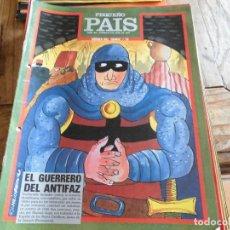 Livros de Banda Desenhada: PEQUEÑO PAIS 15 HEROES DEL COMIC EL GUERRERO DEL ANTIFAZ. Lote 206552031