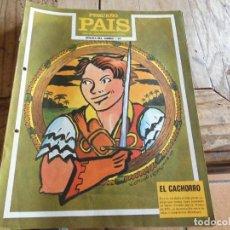 Livros de Banda Desenhada: PEQUEÑO PAIS 31 HEROES DEL COMIC EL CACHORRO. Lote 206553991