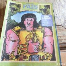 Livros de Banda Desenhada: PEQUEÑO PAIS 32 HROES DEL COMIC CONAN EL BARBARO. Lote 206554138