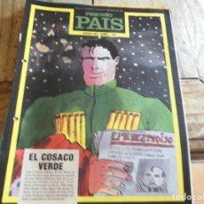Livros de Banda Desenhada: PEQUEÑO PAIS 54 HEROES DEL COMIC EL COSACO VERDE. Lote 206556342