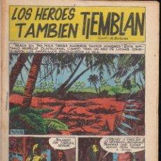 Tebeos: LOS HEROES TAMBIEN TIEMBLAN. BOIXHER 1967. Lote 206781627