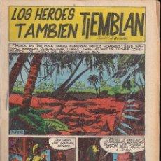 Tebeos: LOS HEROES TAMBIEN TIEMBLAN. BOIXHER 1967. Lote 206781662