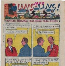 Tebeos: LING LING Nº 169- ORIGINAL, 1958, BUEN ESTADO - LEER Y VER FOTOS. Lote 207072662