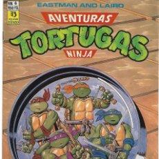Tebeos: AVENTURAS TORTUGAS NINJA Nº 6- ORIGINAL CON POSTER, BUEN ESTADO - LEER Y VER FOTOS. Lote 207072955