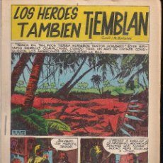 Tebeos: LOS HEROES TAMBIEN TIEMBLAN. BOIXHER 1967. Lote 207084256