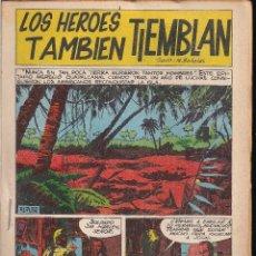 Tebeos: LOS HEROES TAMBIEN TIEMBLAN. BOIXHER 1967. Lote 207084313
