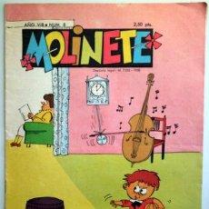 Tebeos: MOLINETE. AÑO VIII. NUM. 8 - 1958 - MUY ILUSTRADO. Lote 207088856