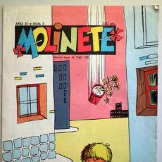 Tebeos: MOLINETE. AÑO IX. NUM. 5 - 1958 - MUY ILUSTRADO. Lote 207088861