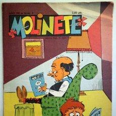 Tebeos: MOLINETE. AÑO VIII. NUM. 3 - 1958 - MUY ILUSTRADO. Lote 207088876