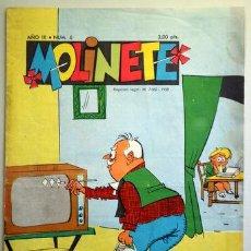Tebeos: MOLINETE. AÑO IX. NUM. 6 - 1958 - MUY ILUSTRADO. Lote 207088878