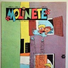 Tebeos: MOLINETE. AÑO X. NUM. 4 - 1958 - MUY ILUSTRADO. Lote 207088886