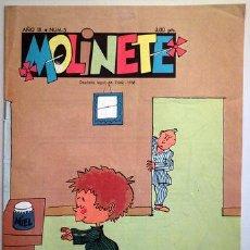 Tebeos: MOLINETE. AÑO IX. NUM. 3 - 1958 - MUY ILUSTRADO. Lote 207088895