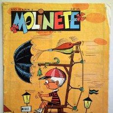Tebeos: MOLINETE. AÑO VII. NUM. 6 - 1958 - MUY ILUSTRADO. Lote 207088903