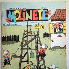 Tebeos: MOLINETE. AÑO IX. NUM. 9 - 1958 - MUY ILUSTRADO. Lote 207088905