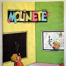 Tebeos: MOLINETE. AÑO IX. NUM. 7 - 1958 - MUY ILUSTRADO. Lote 207088907