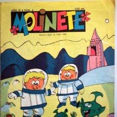 Tebeos: MOLINETE. AÑO IX. NUM. 4 - 1958 - MUY ILUSTRADO. Lote 207088908