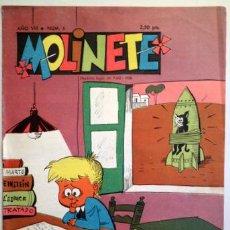 Tebeos: MOLINETE. AÑO VIII. NUM. 6 - 1958 - MUY ILUSTRADO. Lote 207088915