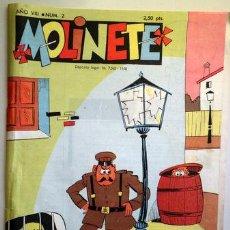 Tebeos: MOLINETE. AÑO VIII. NUM. 2 1958 - MUY ILUSTRADO. Lote 207088923