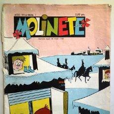 Tebeos: MOLINETE. AÑO VII. NUM. 1 - 1958 - MUY ILUSTRADO. Lote 207088932