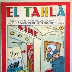 Tebeos: EL TARLÁ. Nª 4 -BARCELONA 1963 - MUY ILUSTRADO. Lote 207089041