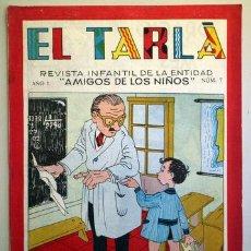 Tebeos: EL TARLÁ. Nª 7 -BARCELONA 1963 - MUY ILUSTRADO. Lote 207089078