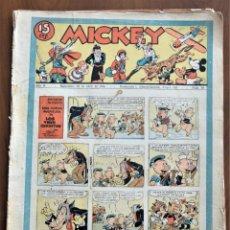 Tebeos: MICKEY REVISTA SEMANAL ILUSTRADA Nº 59 - 18 DE ABRIL DE 1936 - WALT DISNEY. Lote 207117000