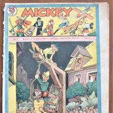 Tebeos: MICKEY REVISTA SEMANAL ILUSTRADA Nº 68 - 27 DE JUNIO DE 1936 - WALT DISNEY. Lote 207118392