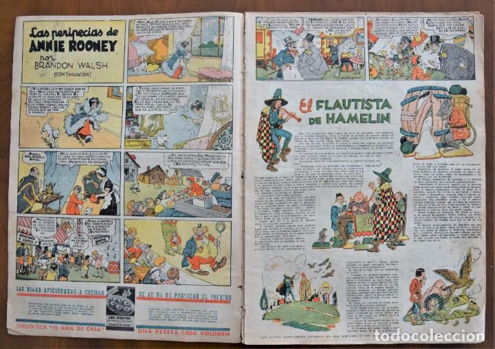 Tebeos: MICKEY REVISTA SEMANAL ILUSTRADA Nº 68 - 27 DE JUNIO DE 1936 - WALT DISNEY - Foto 3 - 207118392