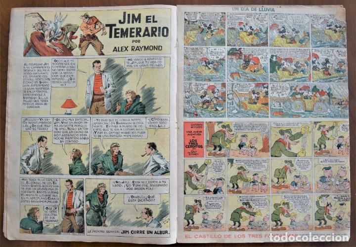 Tebeos: MICKEY REVISTA SEMANAL ILUSTRADA Nº 68 - 27 DE JUNIO DE 1936 - WALT DISNEY - Foto 4 - 207118392
