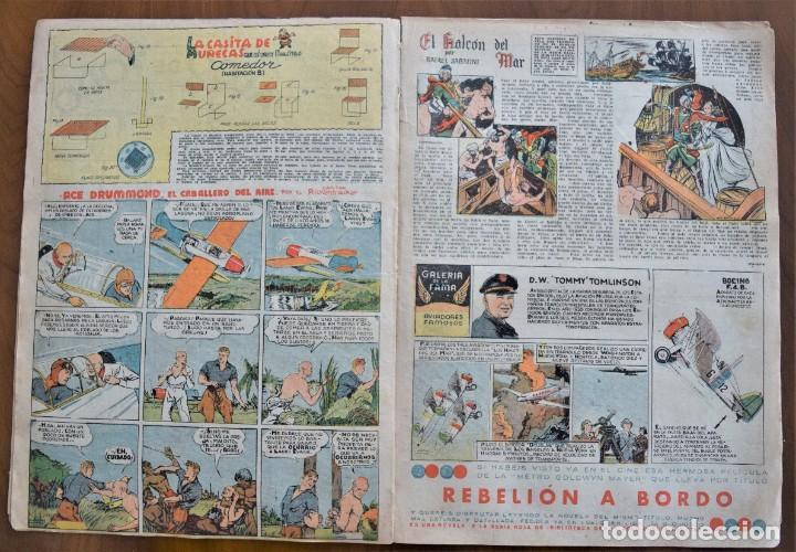 Tebeos: MICKEY REVISTA SEMANAL ILUSTRADA Nº 68 - 27 DE JUNIO DE 1936 - WALT DISNEY - Foto 5 - 207118392