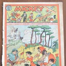 Tebeos: MICKEY REVISTA SEMANAL ILUSTRADA Nº 71 - 11 DE JULIO DE 1936 - SEMANA PREVIA GUERRA CIVIL. Lote 207119023